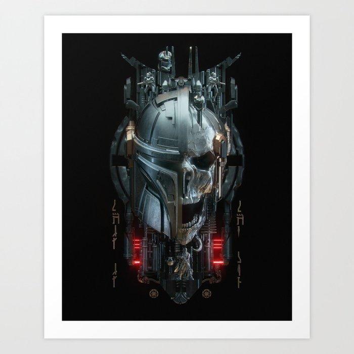 Mando - 3 Art Print