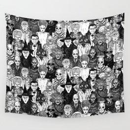 Horror Film Monsters Wall Tapestry