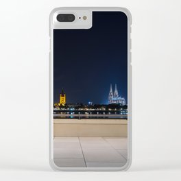 COLOGNE 25 Clear iPhone Case