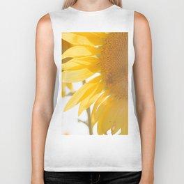 Sunflowers and Sunshine Biker Tank