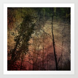 Tree Study No. 3 Art Print