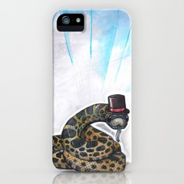 Ssssseriously iPhone Case