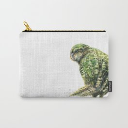 Mr Kākāpō Carry-All Pouch