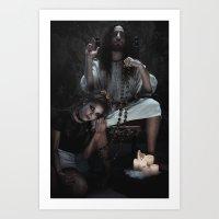 Placebo The End Art Print