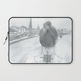 Across the Seine  Laptop Sleeve