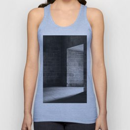 Scary view of hollow Unisex Tank Top
