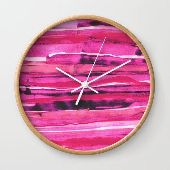 Stack III Wall Clock