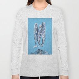 Sleeping Whales Long Sleeve T-shirt