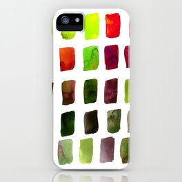 Brushstrokes 1za by Kathy Morton Stanion iPhone Case