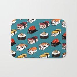Sushi Frenchie Bath Mat