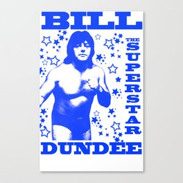 Legendary Memphis Wrestler Bill Dundee Canvas Print