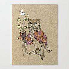 owl nr2 Canvas Print
