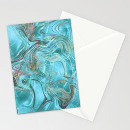 Mermaid 3 Stationery Cards
