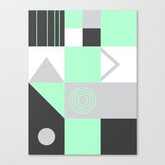 Geometrie Canvas Print