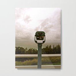 A beautiful lookout. Metal Print