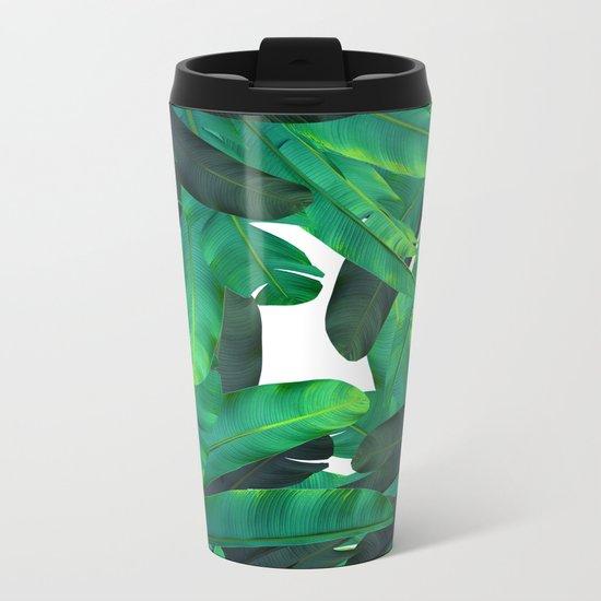 tropic green Metal Travel Mug