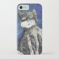 kittens iPhone & iPod Cases featuring kittens by Agata Kowalska