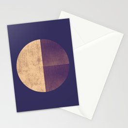 Black and Gold Circle 42 Stationery Cards