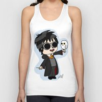harry Tank Tops featuring Harry by kaylieghkartoons