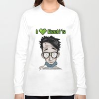geek Long Sleeve T-shirts featuring Geek by Aguamala
