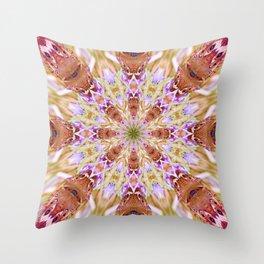 The Buckeye Butterfly Kaleidoscope Throw Pillow