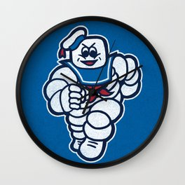 Marshmelin Man Wall Clock