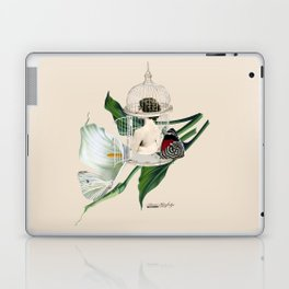 the cage door is always open Laptop & iPad Skin