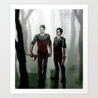 Manhunters Art Print