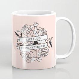 anxious procrastinator Coffee Mug