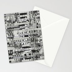 Exploiting Digital Behavior (P/D3 Glitch Collage Studies) Stationery Cards