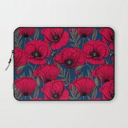 Night poppy garden  Laptop Sleeve