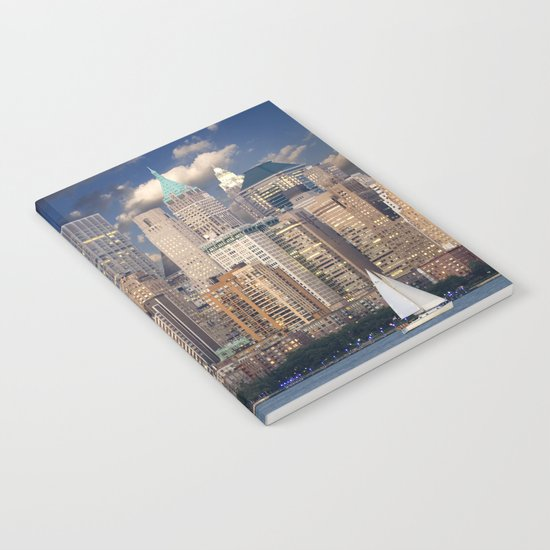 New York Manhattan Notebook