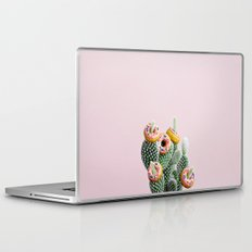 Donut Cactus In Bloom Laptop & iPad Skin