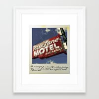 secret life Framed Art Prints featuring The Secret of Life by toddisfred