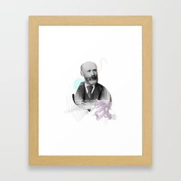 Nameless man Framed Art Print