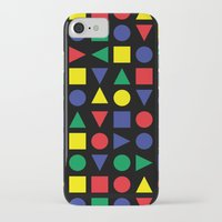 mid century iPhone & iPod Cases featuring Mid Century Geometric by dukepope