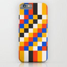 Pixels: Bauhaus Edition iPhone Case