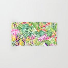 Tropical Garden 1A #society6 Hand & Bath Towel
