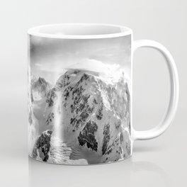 Denali Massif from the Air - Denali & Foraker Coffee Mug