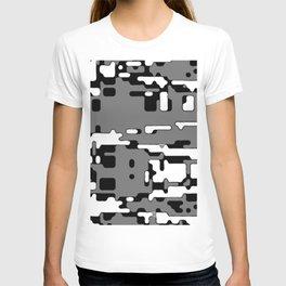 jitter, b&w 8 T-shirt