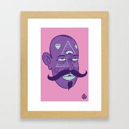 3eyes Framed Art Print