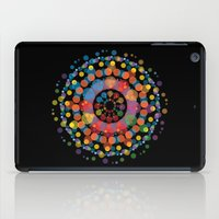 circles iPad Cases featuring Circles by Scalifornian