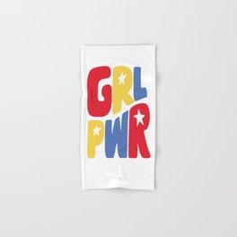 GRL PWR Star Hand & Bath Towel