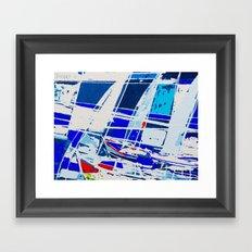 0040-SAILS 1010 Framed Art Print