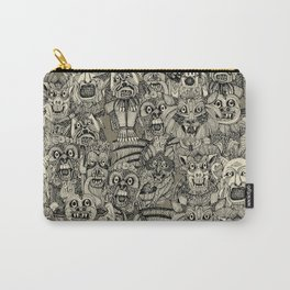 gargoyles vintage black Carry-All Pouch