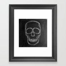No. 57 - The Skull Framed Art Print