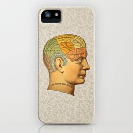 Phrenology | A Picture of Good Health circa 1881 iPhone Case