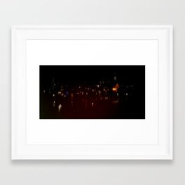 Lost in Some City No. 13 Framed Art Print