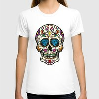 mexican T-shirts featuring Mexican Skull by Pancho the Macho
