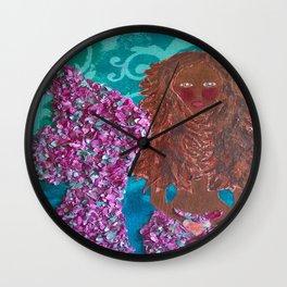 Magdalena the Mermaid Wall Clock